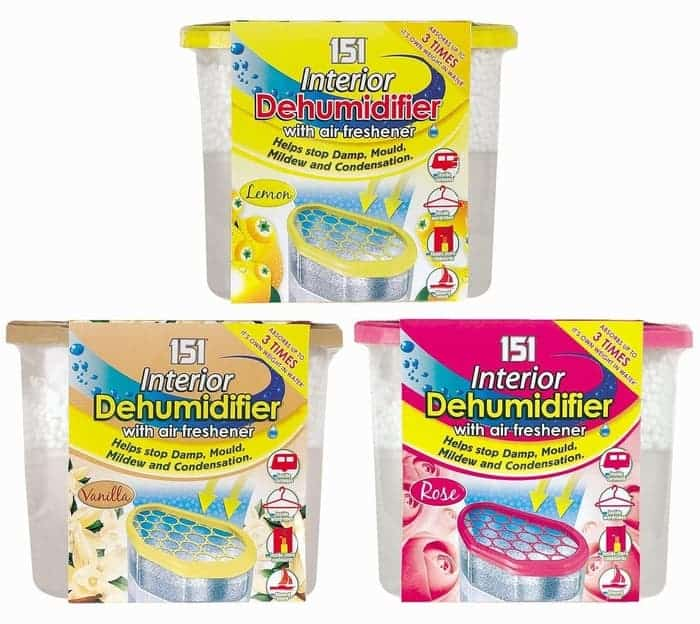 151 Interior Dehumidifier With Air Freshener - Assorted Scents