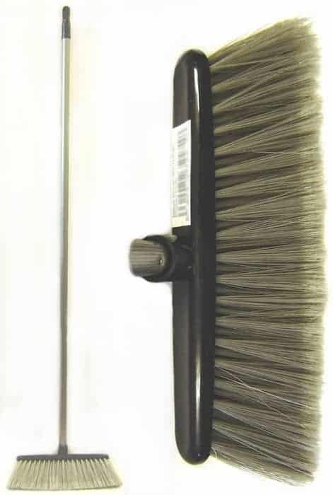 Hard Broom with Handle