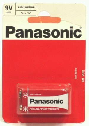 PP3 Panasonic Battery
