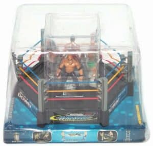 Wrestling Ring with Figures