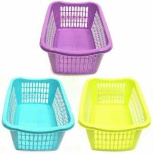 Assorted Large Handy Basket