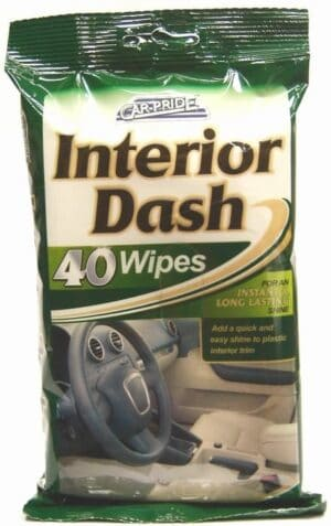 Carpride 40pk Interior Clean Wipes