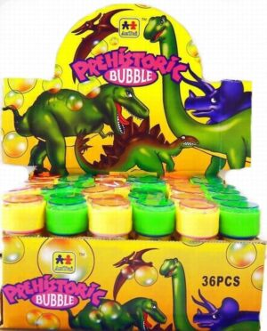 Dinosaur Bubbles with Puzzles