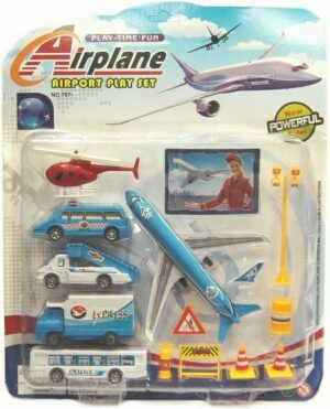 Assorted Airport Playset