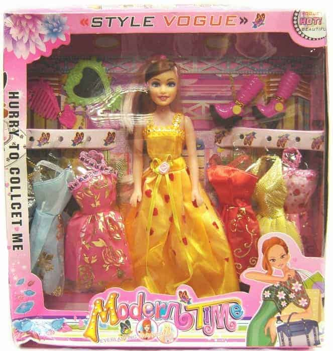 Doll and Dress Set
