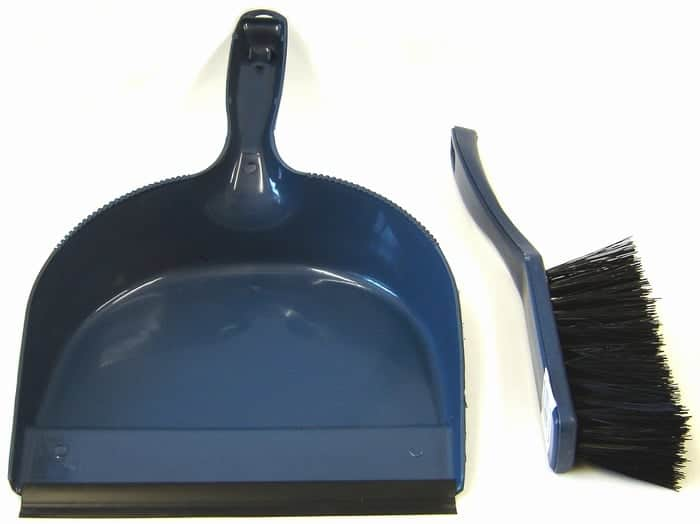 Assorted Dustpan & Brush