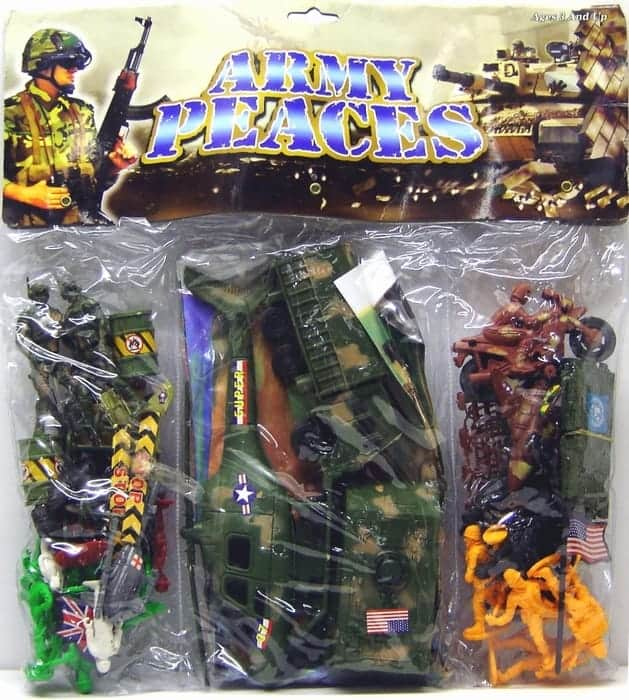 Assorted Giant Army Playset