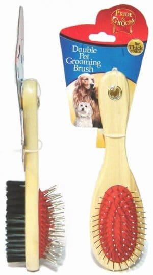 Pride and Groom Oval Pet Groom Brush