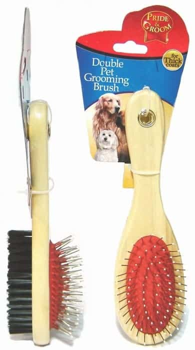 Pride and Groom Oval Pet Groom Brush