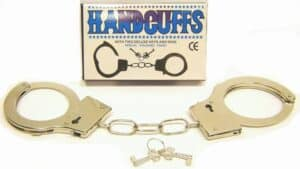 Metal Handcuffs with Keys