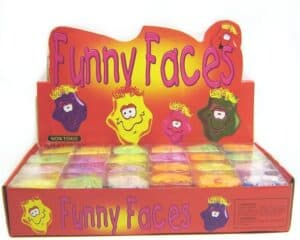 Assorted Soft Funny Face