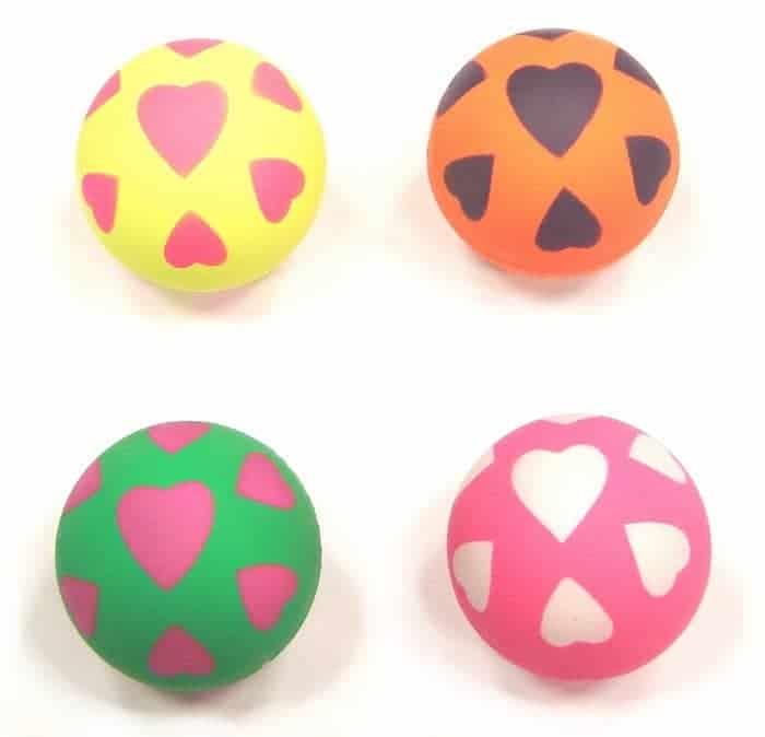 6cm Heart Balls