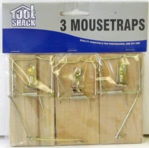 3pc Mouse Traps  Tool Shack Wholesale Pest Control