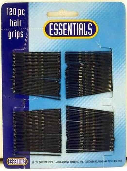 SB Essentials Hair Clips / Hair Grips - 120 Pieces