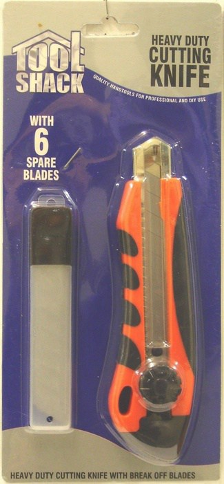 Tool Shack Heavy Duty Knife with Blades