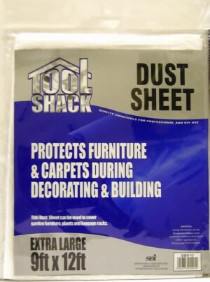 Tool Shack 9x12 Dust Sheet
