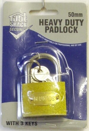 Tool Shack  50mm Heavy Duty Padlock