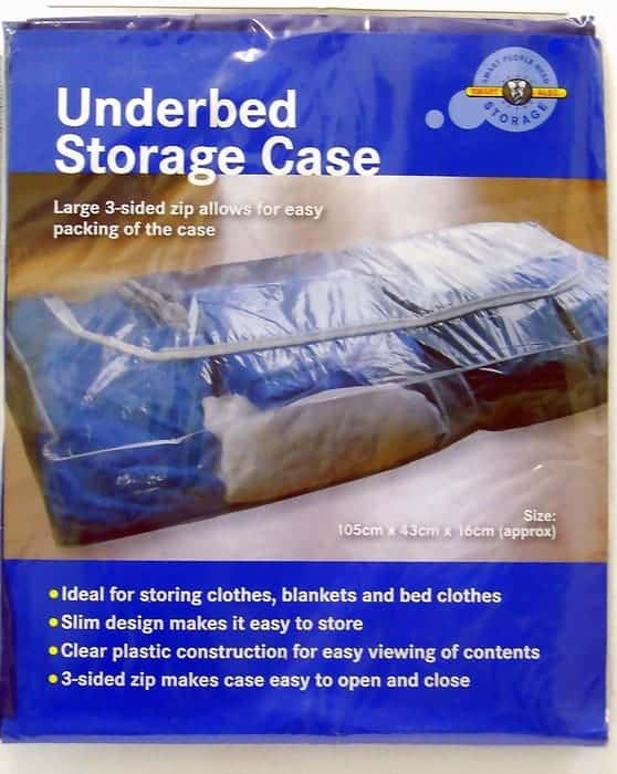Smart Alec Under Bed Storage Bag