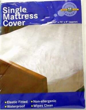 Smart Alec Single Mattress Cover
