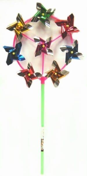 8 Head Foil Windmill