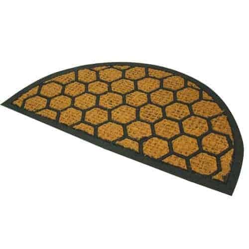 40x60cm Alba Half Moon Doormat