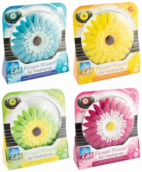 Carpride Assorted Flower For Car Air Freshener