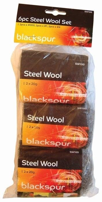 6pc Steel Wool