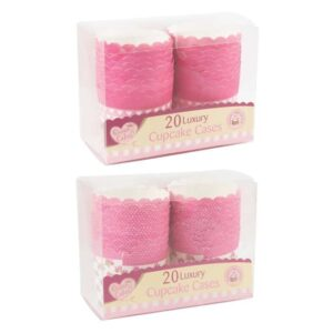 Queen of Cakes 20Pk Luxury Muffin Cases
