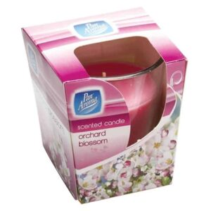 Pan Aroma Clear Glass Candle - Orchard Blossom