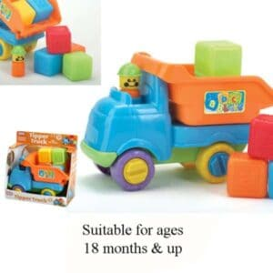 Tipper Truck With Blocks