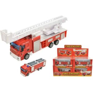 1:64 Scale Die Cast Fire Engines