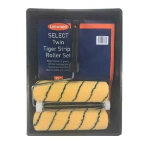 """Paint Roller Set 9"""" Tiger Stripe"""