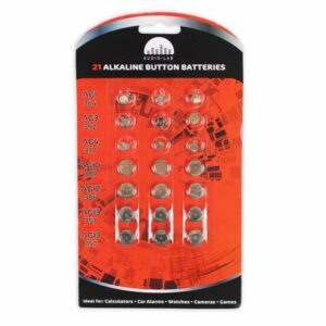 21 Alkaline Button Batteries