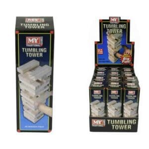 Mini 48Pc Wooden Tower Game