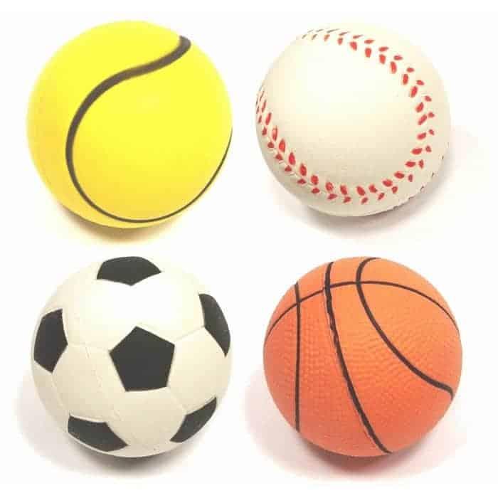 Rubber Balls-Ass Sports  *