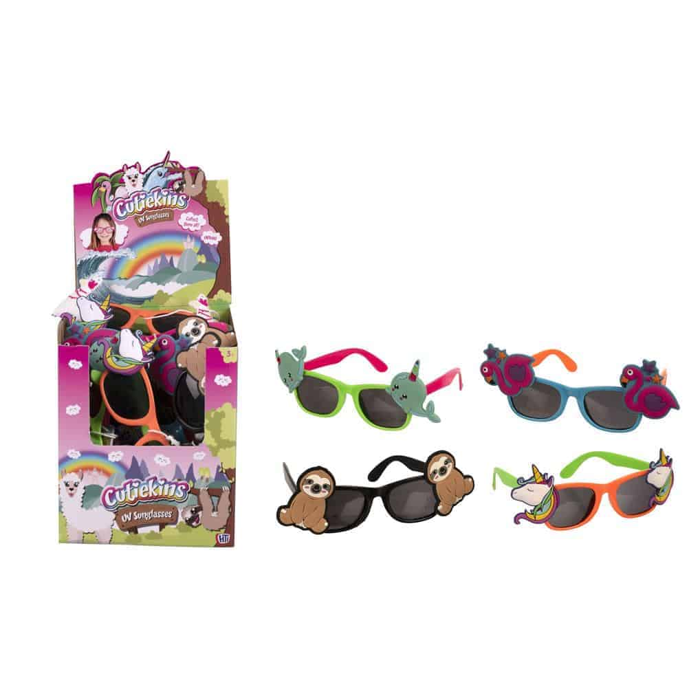 4 Astd Kiddies Uv Sunglasses