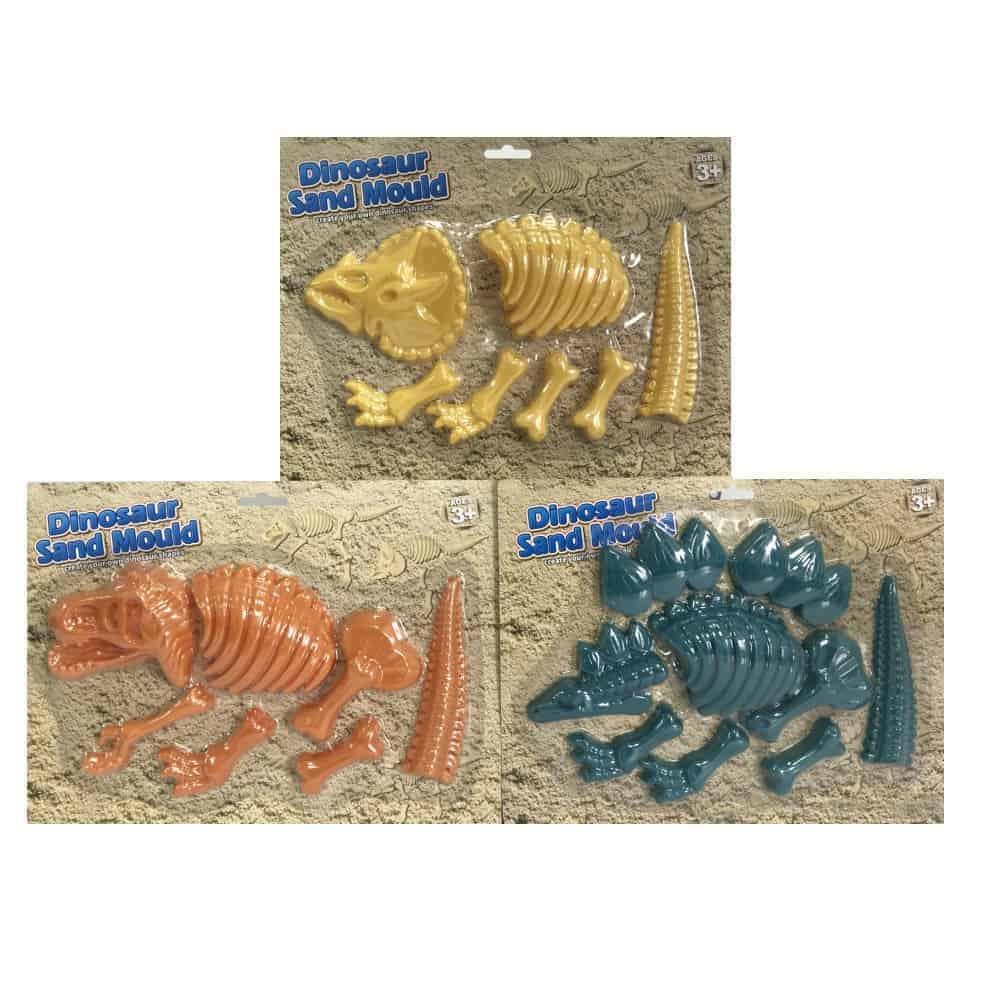 Asst Dino Sand Moulds