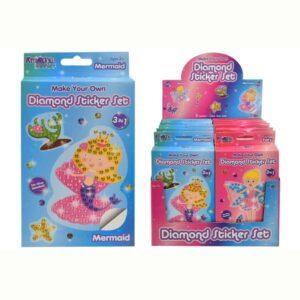 Make Your Own Diamond Sticker Sets Colour & Display Box