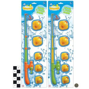 5Pc Hook A Duck Game On Blistercard