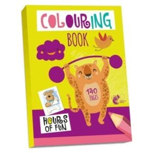 Chiltern Wove Colouring Book, 140 pages, Hours of Fun!