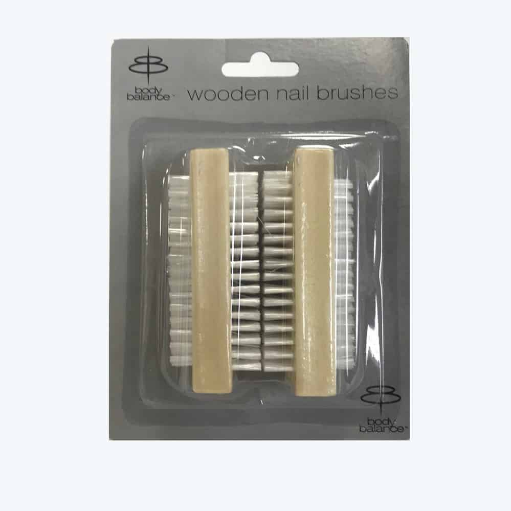 3pc Wood Nail Brushes