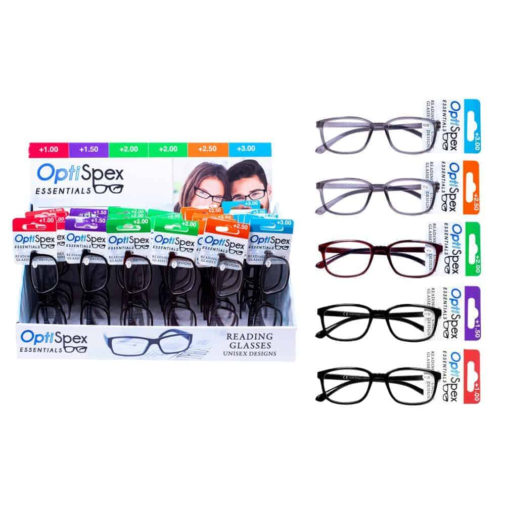 Reading Glasses-Display-Asst