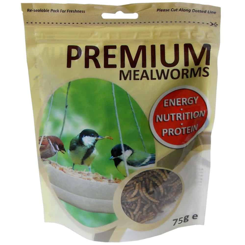 Dried Mealworm - 75G