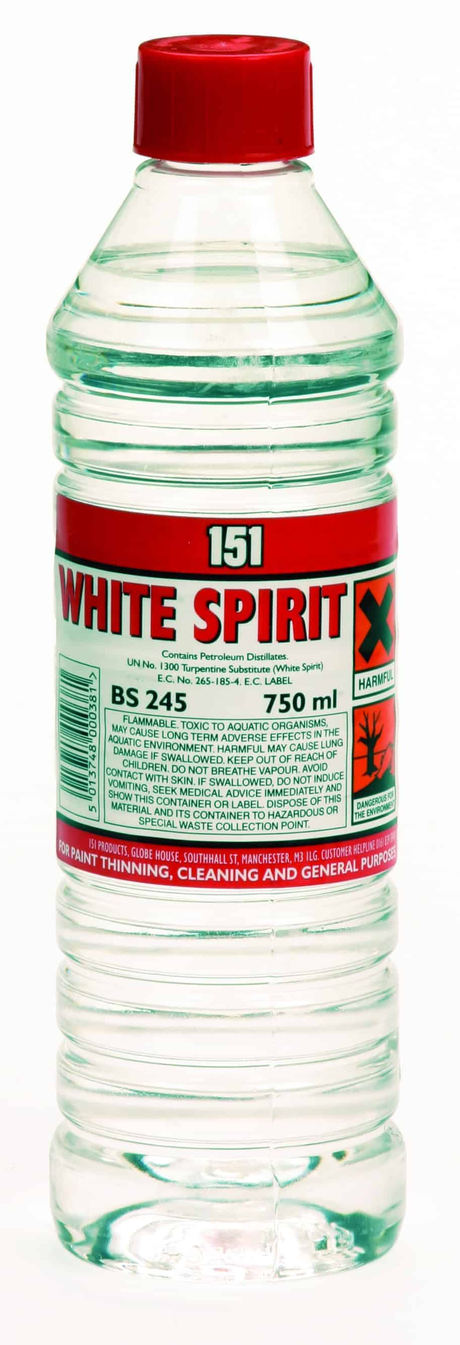151 Products White Spirit