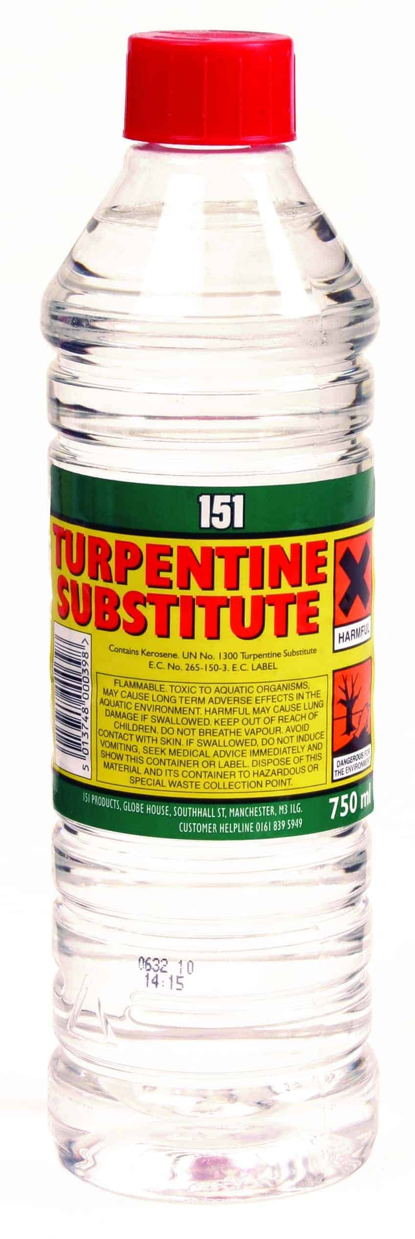 151 Products Turpentine Substitute