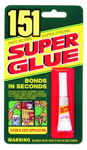 151 Products Super Glue