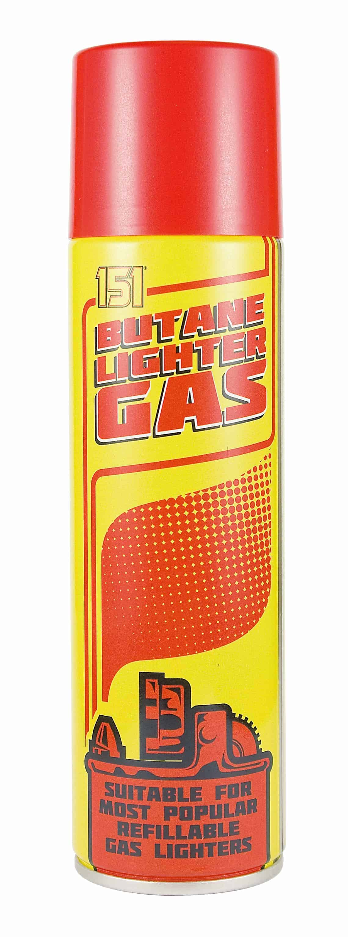151 Products Butane Lighter Gas