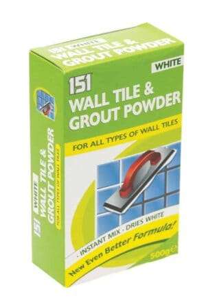 151 Products 500g Super White Grout