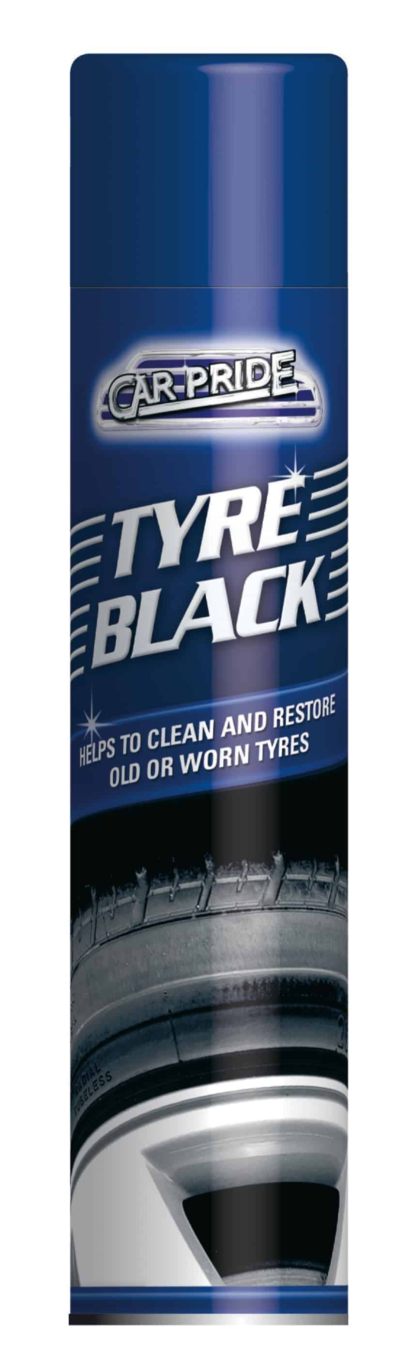 Carpride 250ml Tyre Black