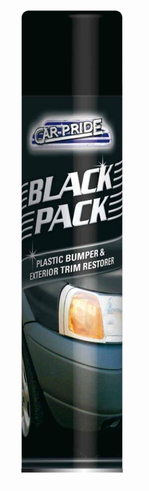 CarPride Black Pack -Plastic Bumper & Exterior Trim Restorer